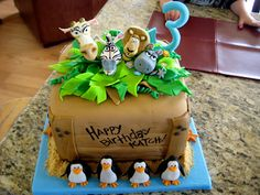 Madagascar cake two
