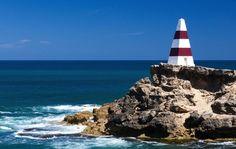 A popular tourist destination in the Limestone Coast is the historic seaside resort of Robe.  #LimestoneCoast #SA #SouthAustralia #Australia #Coast #cliffs #sea #beach