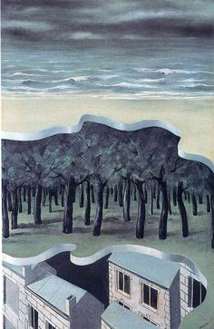 The masterpiece or the mysteries of the horizon - Rene Magritte - WikiPaintings.org
