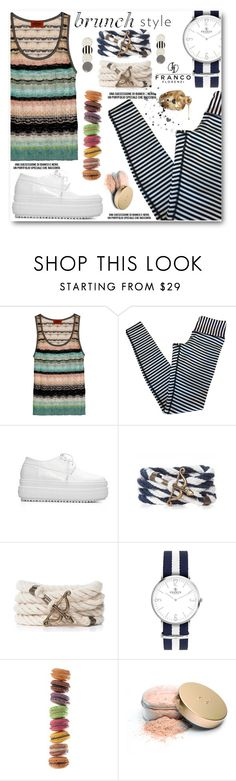 """""""Brunch With Friends"""" by angelstar92 ❤ liked on Polyvore featuring lululemon, Brewster Home Fashions, Jane Iredale, Kate Spade, brunch and francoflorenzi"""