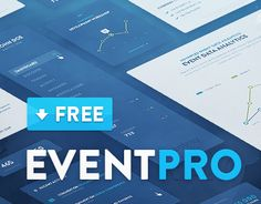 """Check out this @Behance project: """"EventPro UI Kit - Free Download"""" https://www.behance.net/gallery/23125407/EventPro-UI-Kit-Free-Download"""