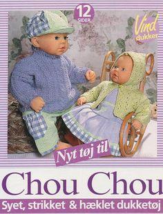 Nyt tøj til Chou Chou: Syet, strikket & hæklet dukketøj - https://get.google.com/albumarchive/103852630583460363974/album/AF1QipMb08KFUDuabto5SypalYX-QrG31l6N88hOvvF6