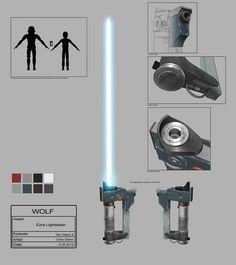 Ezra's lightsaber/blaster