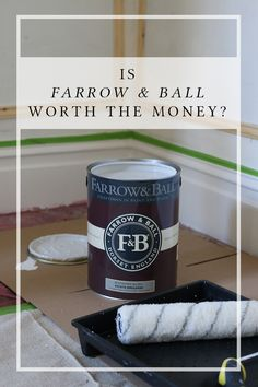 Dining Room Remodel: Farrow & Ball vale i soldi? Farrow Ball, Farrow And Ball Paint, Paint Colours, Dose, Humble Abode, White Paints, Own Home, Decoration, Decorating Tips