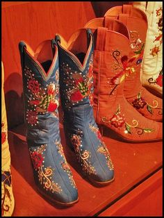 Nudies boots for Marty Robbins