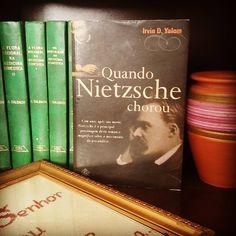Livro: Quando Nietzsche chorou  #desafiodecola #30ideias30dias