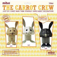 D.I.Y.-Papier-Deko ›The Carrot Crew‹ - S.W.W.S.W.
