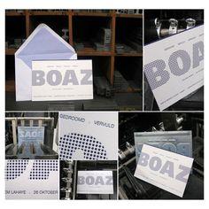 geboortekaart letterpress polyprint24.be