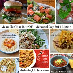memorial day menu recipes