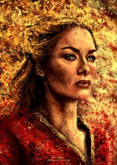 Game of Thrones Portrait Series - Created by Varsha Vijayan