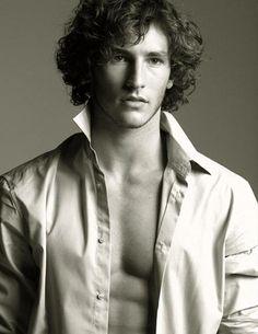 Parker Gregory, American model, b. 1986