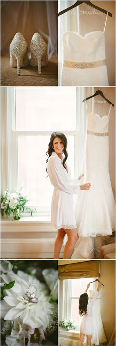 Bride getting ready shots -- wedding day portraits by Ashley West Photography in Columbus Ohio