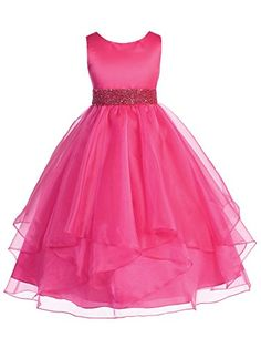 Fashionable Baby Girl Flower party dress