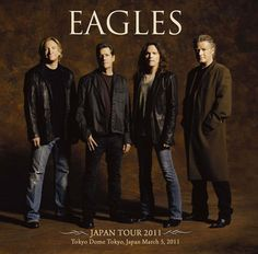 The Eagles have been awarded honorary doctorates of music by the Berklee School of Music. The ceremony, held in Boston on Saturday May also saw Alison Krauss and Ethiopian musician Malatu Astatke honoured I Love Music, Sound Of Music, Eagles Band, Eagles Lyrics, Rock Poster, Greatest Rock Bands, Music Icon, Music Music, Rock Legends