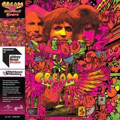 Cream - Disraeli Gears: Half Speed Master Limited Edition 180g Vinyl LP