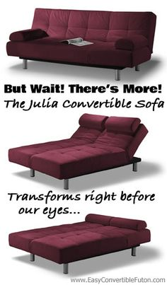 The Julia Convertible Sofa Is Not Your Average Futon What So Diffe About It