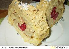 Jemná roláda s kávovým krémem, plněná jahodami recept - TopRecepty.cz Dairy, Pie, Treats, Cheese, Sweet, Food, Torte, Sweet Like Candy, Candy