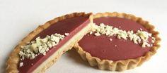 Hindbærcurd-tærter - Egeriis kager