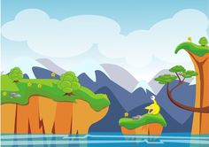 Game background design by DizCreator.deviantart.com on @deviantART