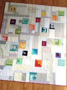Baby quilt for new DCMQG member by quirky granola girl, via Flickr