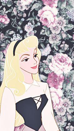 DisneyThis. DisneyThat. - Phone Backgrounds → Sleeping Beauty
