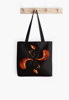 'The Crab' All Over Print Tote Bag, print design by Asmo Turunen. #design #totebag #shoppingbag #atcreativevisuals