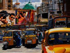 India-street-of-Mumbai