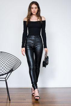 Allegro Bodysuit - Black