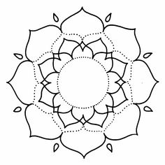 Visita la entrada para saber más Mandala Drawing, Mandala Painting, Stained Glass Patterns, Mosaic Patterns, Mandala Pattern, Mandala Design, Mandala Coloring Pages, Colouring Pages, Mosaic Garden Art