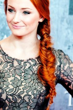 Sophie Turner - how can you possibly NOT love her??