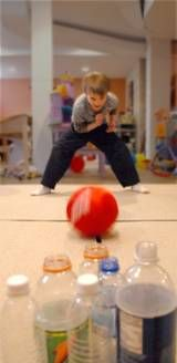 Homemade fitness equipment and active toys