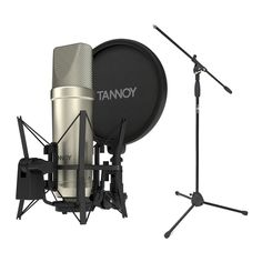 Tannoy TM1 Recording Package with Condenser Microphone - Main  The Tannoy TM1 Recording Package with Condenser Microphone is a complete studio recording package