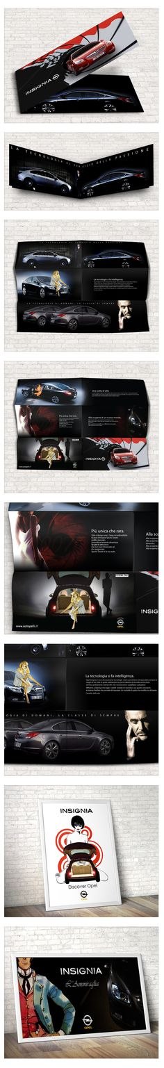 Brochure - Posters - Outdoor - Opel Insignia on Behance