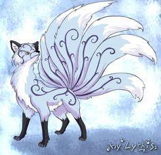 anime nine tailed fox girl - Google Search