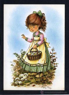 Ilustrador *Mary May* Ed. Pagsa serie 537 nº 2. Nueva. (Postales - Dibujos y Caricaturas)