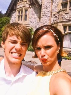 Mitchell Hope & Keegan Connor Tracy
