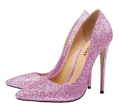 Amazon.com: Guoar Women's Stiletto Heels Sandals Big Size Shoes Pointed Toe Bling Patent Pumps for Wedding Party: Clothing