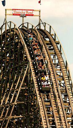 Thunder Road, Carowinds Theme Park, Charlotte, North Carolina