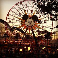 Disney California Adventure Park in Anaheim, CA