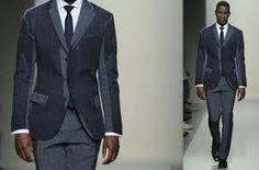 purple suits groom modern - Google Search