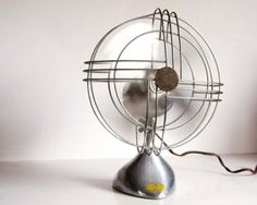 Vintage Fan Art Deco Zephyr Airkooler Chrome and by CalloohCallay on Etsy by maiko