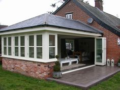 Garden room extension.