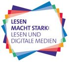 Lesen macht stark - projects devoted to the promotion of reading with digital media. Workshop, Social Security, Stark, Cards, Logo, Teaching Ideas, Material, Promotion, Campaign
