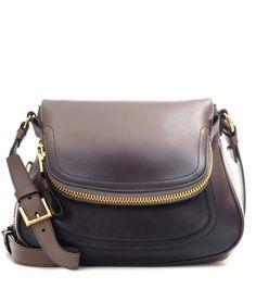 Tom Ford New Jennifer Medium gradient grey leather shoulder bag