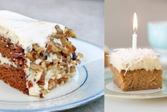 Attention carrot cake lovers! Get 20+ gluten free, grain free healthy Paleo Carrot Cake and cream cheese frosting recipes with nut and dairy free options.