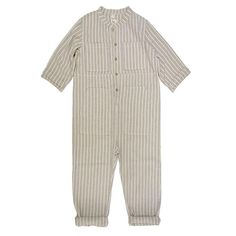 An update on a seasonal favorite, the Saturn Jumpsuit is a new wardrobe staple. In Spectrum Stripe fabric, every kiddo will be ready for an oddyssey among the cotton. New Wardrobe, Wardrobe Staples, Shops, People Shopping, Striped Jumpsuit, Striped Fabrics, Cotton Fabric, Woven Cotton, Ready To Wear
