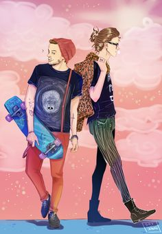 "Larry fan art  datjonah: ""I wanted to draw some fanart of this lovely manip made by babyoflouis. And then I went kinda wild. Idk what's happening here.. It's 3am. """