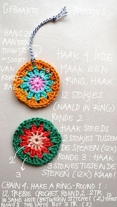 Crochet circles, purr-fect for jewelry, bookmarks, etc.: free easy pattern