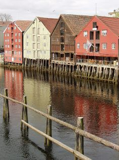 Stilt Houses, Trondheim, Norway