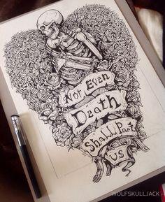 Skull Art Tattoo Drawing Beautiful Ideas For 2019 Body Art Tattoos, Tattoo Drawings, New Tattoos, Tatoos, 16 Tattoo, Tattoo Life, Tattoo Art, Image Triste, Skeleton Art